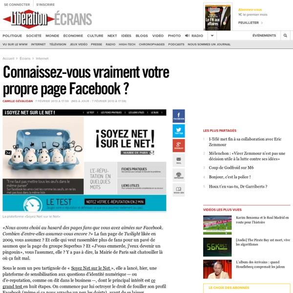 Connaissez-vous vraiment votre propre page Facebook ?