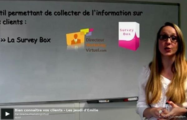 Vidéo : Bien connaître vos clients - Les jeudi d'Emilie