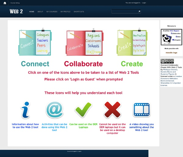 Connect-Collaborate-Create with Web 2 Tools