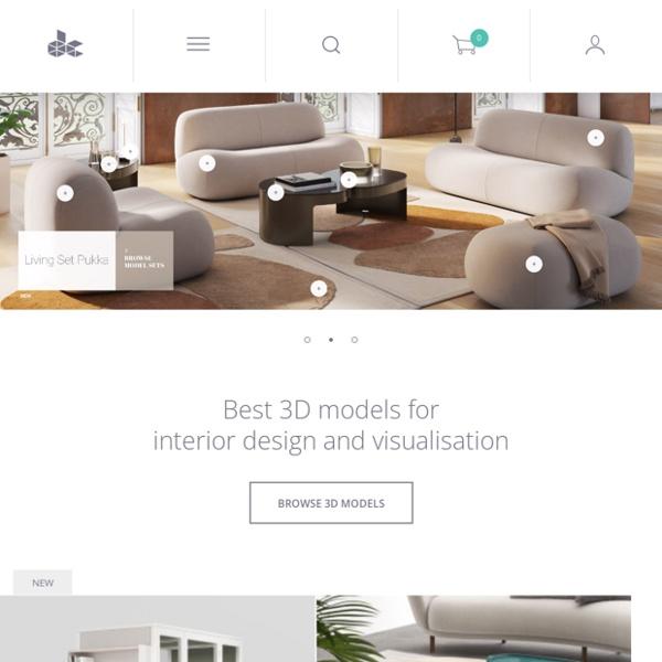 Designconnected: 3d models for interior design