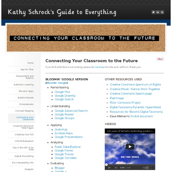 Connecting your Classroom to the Future