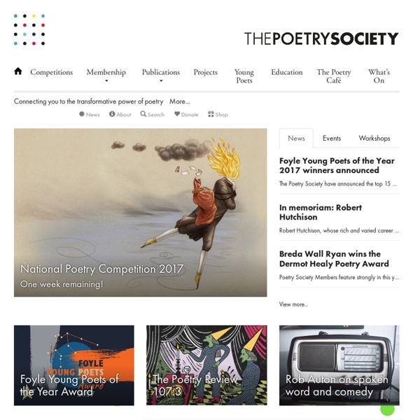 The Poetry Society (Home Page)