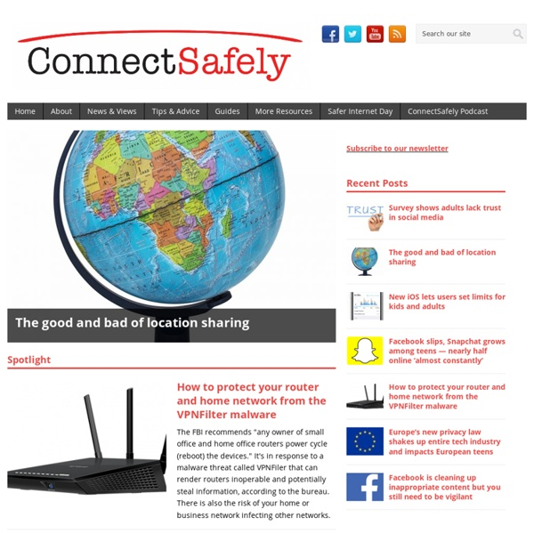 For Parents: ConnectSafely