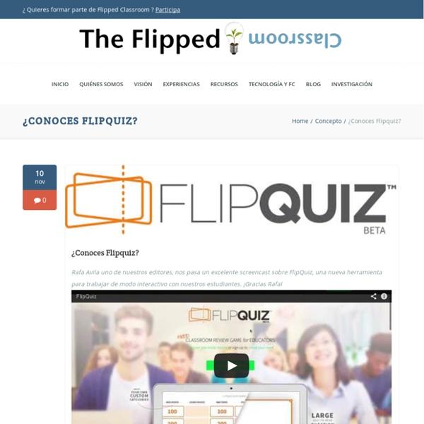 ¿Conoces Flipquiz?