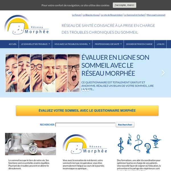 Réseau Morphée, un réseau de santé pour vous aider à mieux dormi