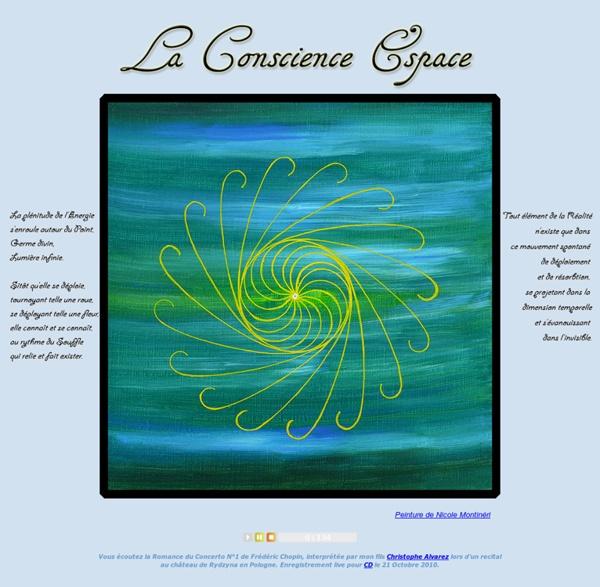 La Conscience Espace - Nicole Montineri