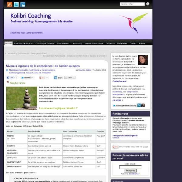 Kolibri coaching - Coaching du management et des dirigeants