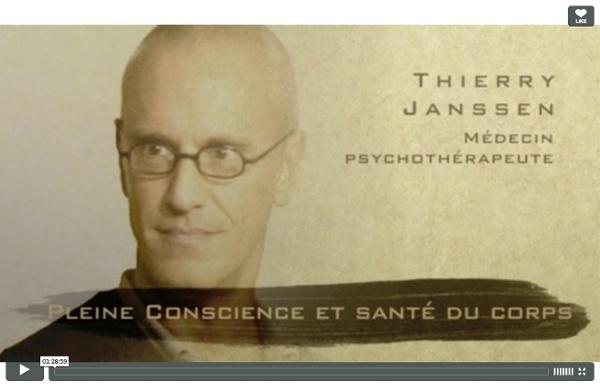 Pleine Conscience et Santé du corps — Thierry Janssen
