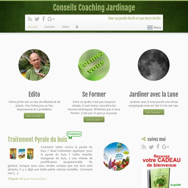 Jardin facile, terre fertile avec Conseils Coaching Jardinage