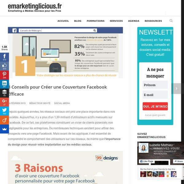3 Conseils pour Créer une Couverture Facebook Efficace