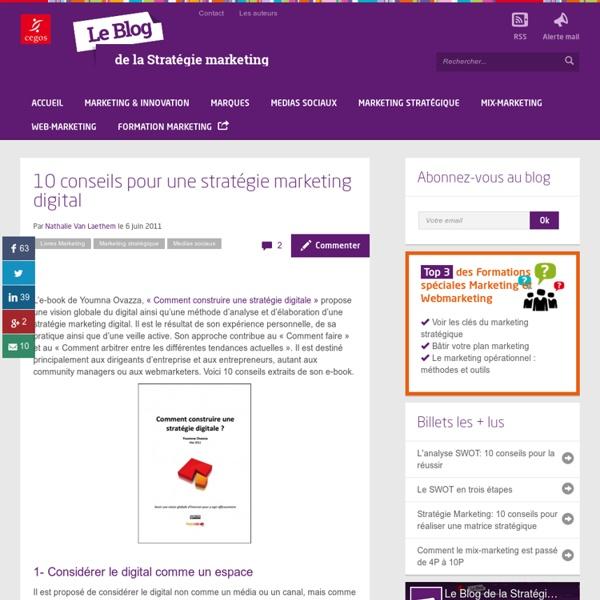 10 conseils pour une stratégie marketing digital