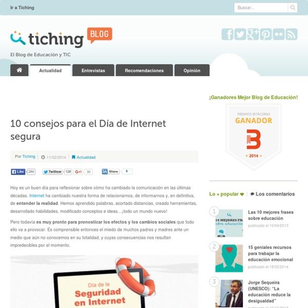 10 consejos para el Día de Internet segura