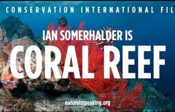 Nature Is Speaking – Ian Somerhalder is Coral Reef