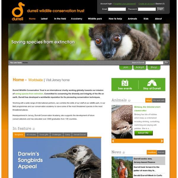 Wildlife Conservation Trust - An international charity saving species from extinction