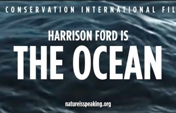 Nature Is Speaking – Harrison Ford is The Ocean