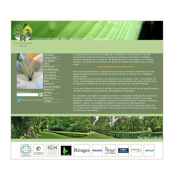 Conservatoire des Jardins et Paysages