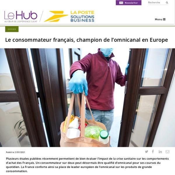 Le consommateur français, champion de l'omnicanal en Europe