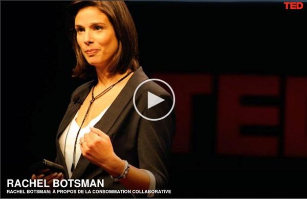 Rachel Botsman: À propos de la consommation collaborative