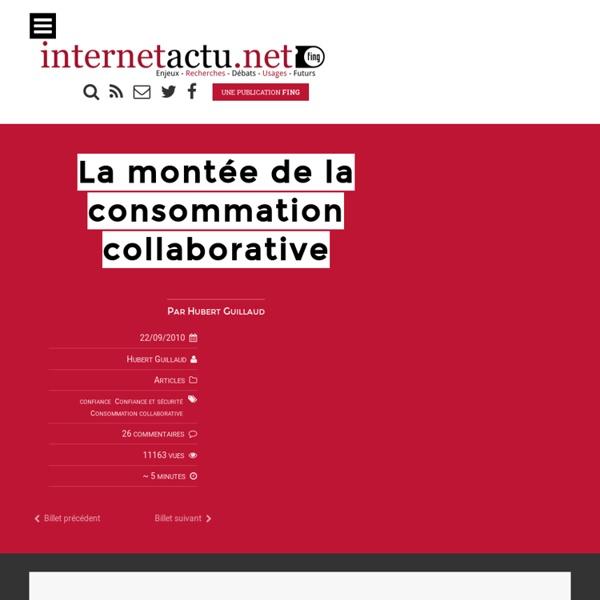 La montée de la consommation collaborative