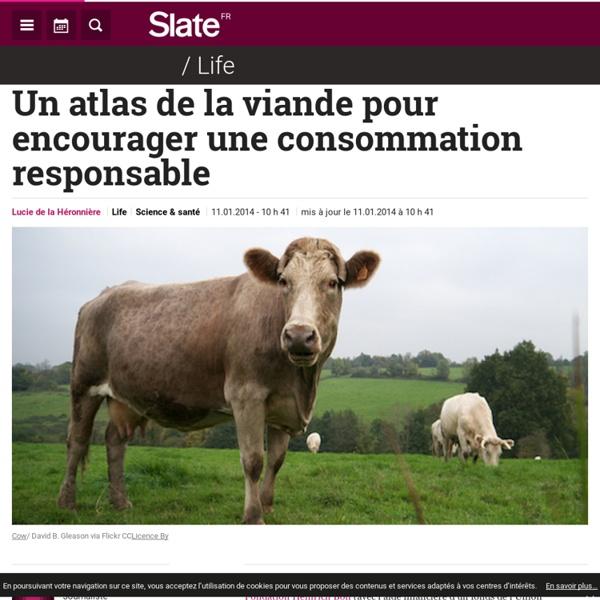 Un atlas de la viande pour encourager une consommation responsable