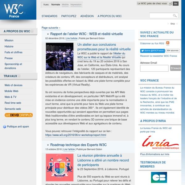World Wide Web Consortium (W3C) - Bureau France