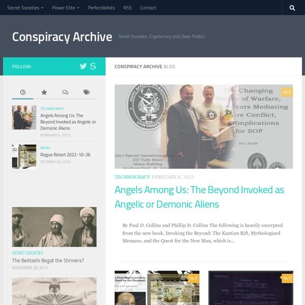 Illuminati Conspiracy Archive: ConspiracyArchive.com