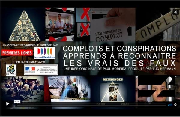 COMPLOTS ET CONSPIRATIONS : APPRENDS À RECONNAÎTRE LES VRAIS DES FAUX...