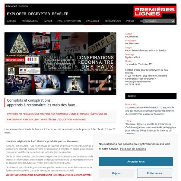 Complots et conspirations :apprends à reconnaître les vrais des faux…