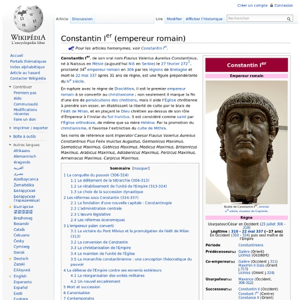 Constantin Ier (empereur romain)