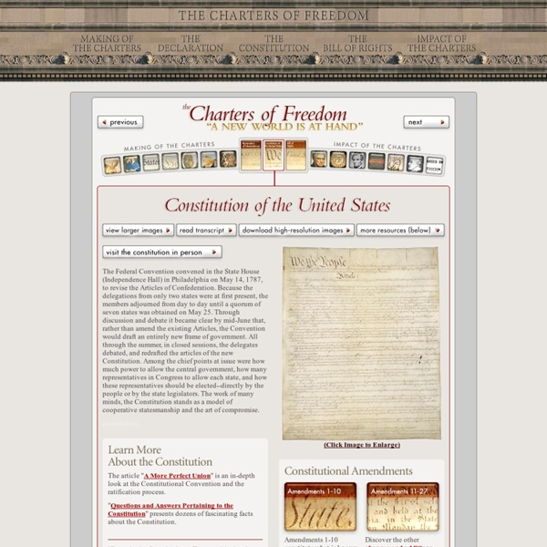 Constitution of the United States - National Archives