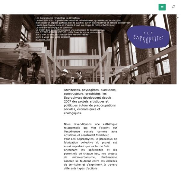 INNOVER ET INTÉGRER - Les Saprophytes, Collectif pluridisciplinaire - architecture - paysage, Lille