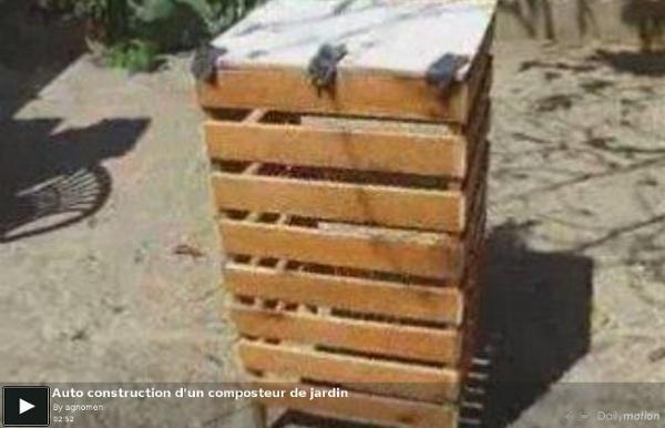 Auto construction d'un composteur de jardin - une vidéo Vie pratique