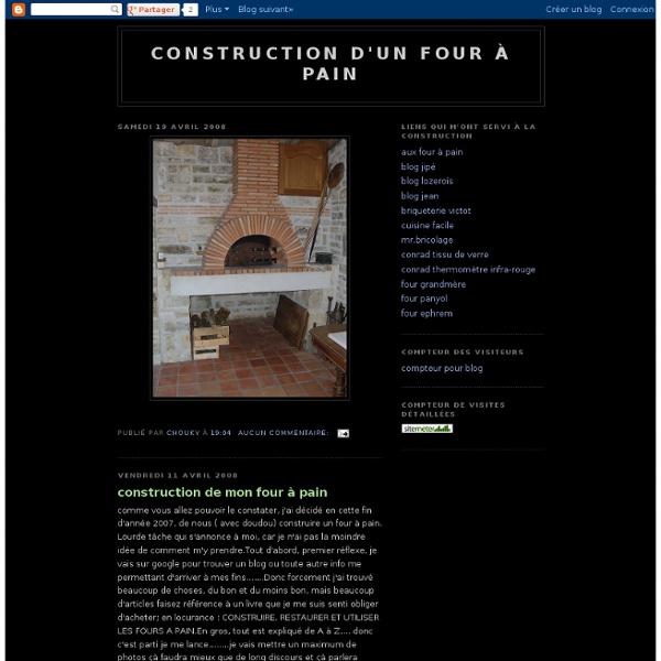 Construction d'un four à pain