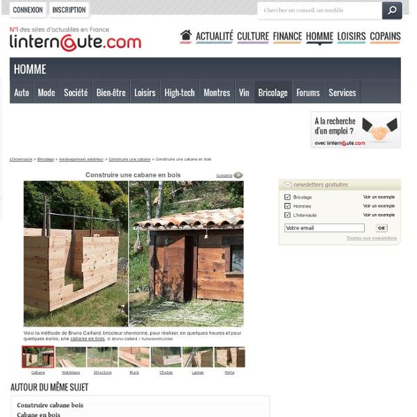 Cabanes - L'Internaute Bricolage