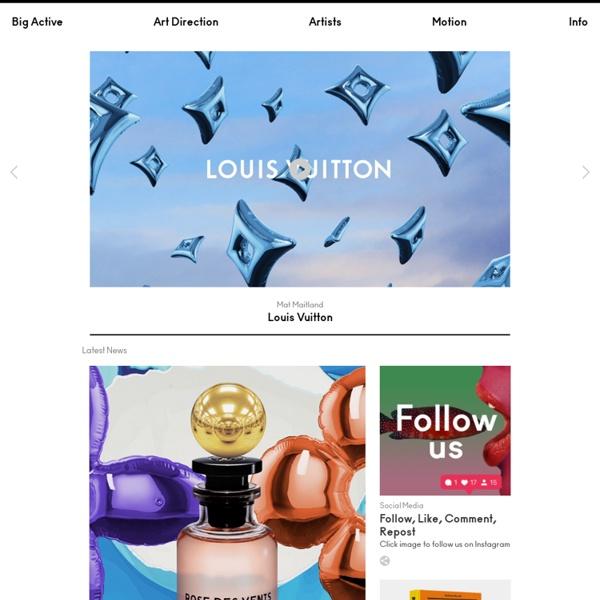 Big Active - art direction, graphic design, creative consultancy and representation +44 (0)20 7739 5601
