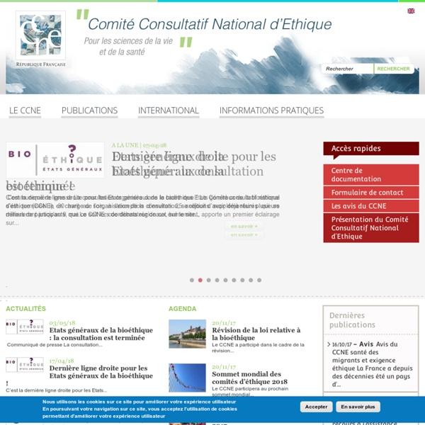 Comité Consultatif National d'Ethique