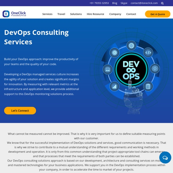DevOps Consulting Service Provider
