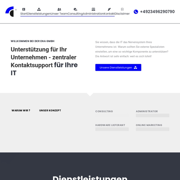 ENA-GmbH - Ihr IT Administrator in NRW