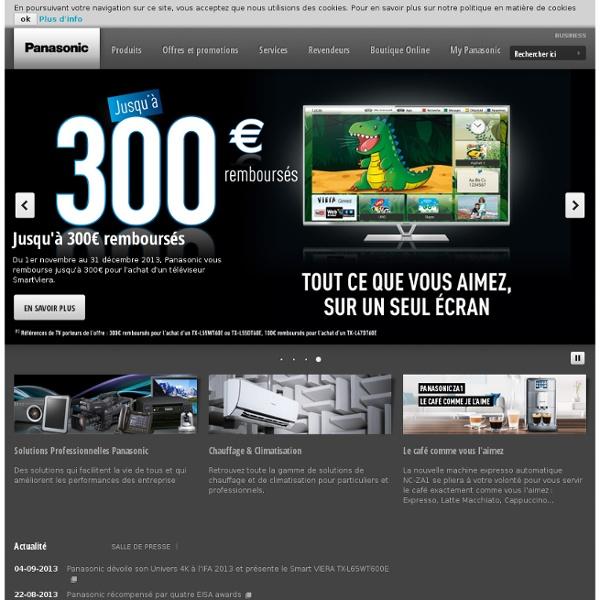 Produits - Ecrans Plats Viera - Présentation - VIERA Remote App -France
