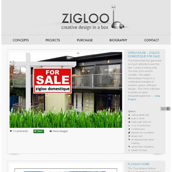 Zigloo Custom Container Home Design