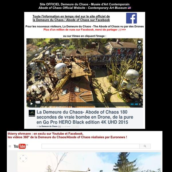 999 Demeure du Chaos - Abode of Chaos - Musée d'Art Contemporain - Esprit de la Salamandre - Salamander Spirit - Nutrisco et Extinguo