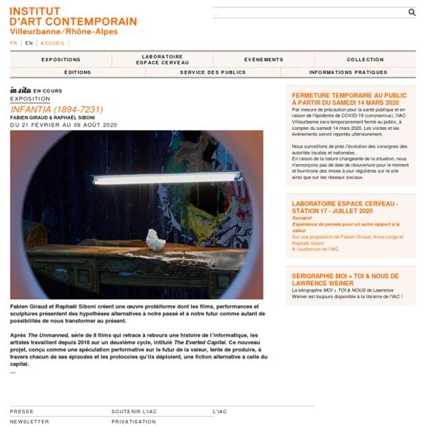 IAC — Institut d'art contemporain — Villeurbanne/Rhône-Alpes