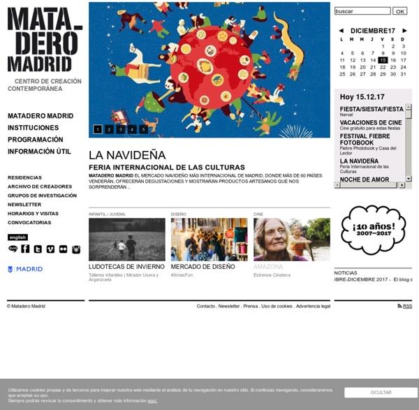 Centro creativo contemporáneo del Ayuntamiento de Madrid