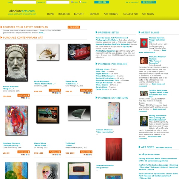 Buy Contemporary Art - Art For Sale - Buy Art Online - Fine Art For Sale - Artist Websites - absolutearts.com