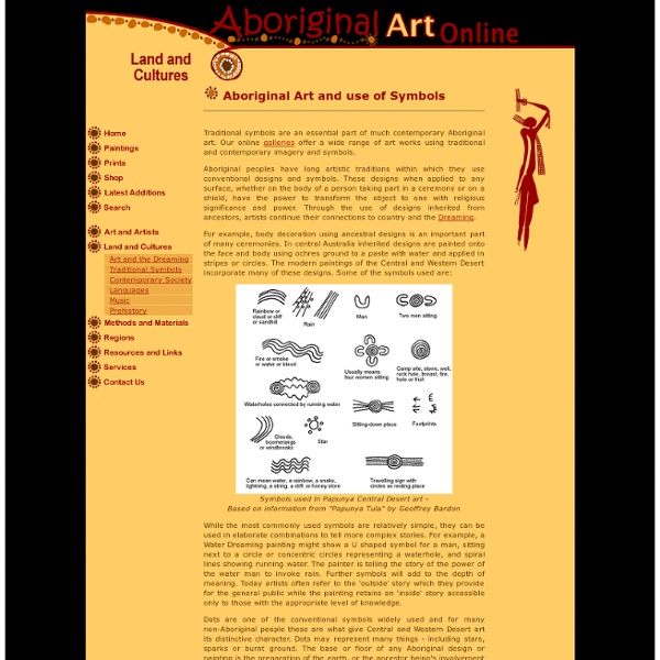 Aboriginal Art Online Contemporary Art And Traditional Symbols