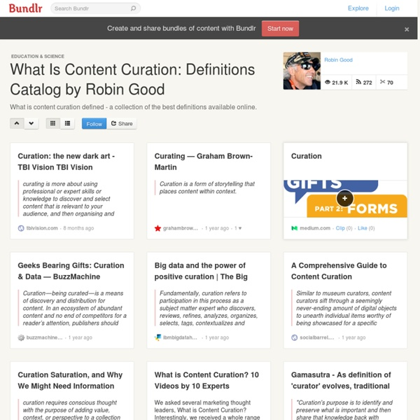 What Is Content Curation: Definition