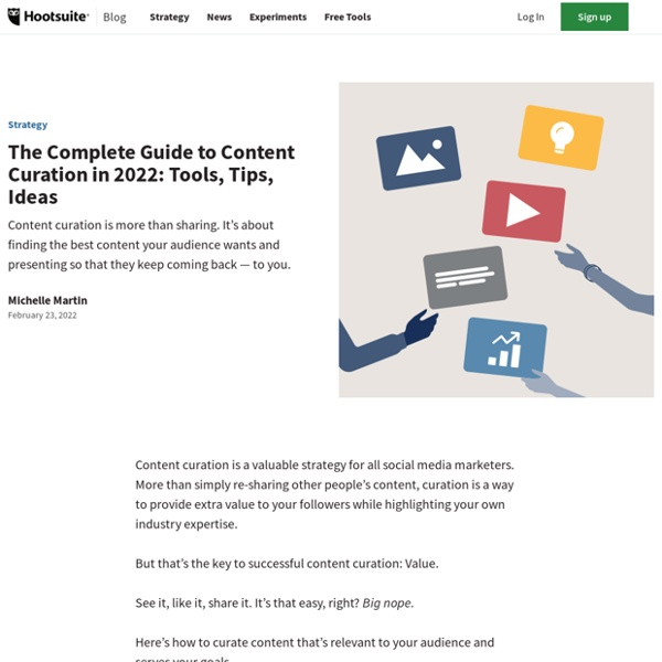Content Curation: A Beginner's Guide To Curating Content