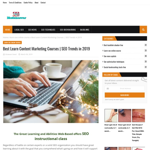 Best Learn Content Marketing Courses