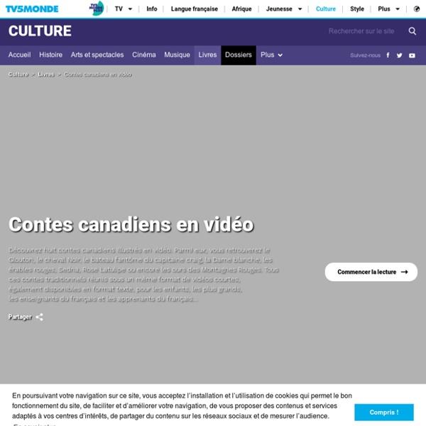 Contes canadiens en vidéo
