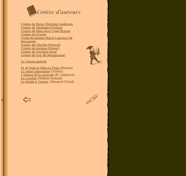 Contes d'auteurs